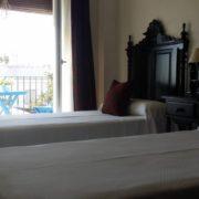Habitación con terraza doble 2 camas
