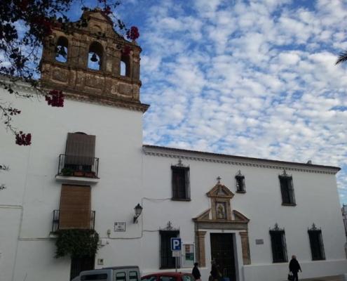 Centro Cívico. Convento Del Carmen en Trigueros