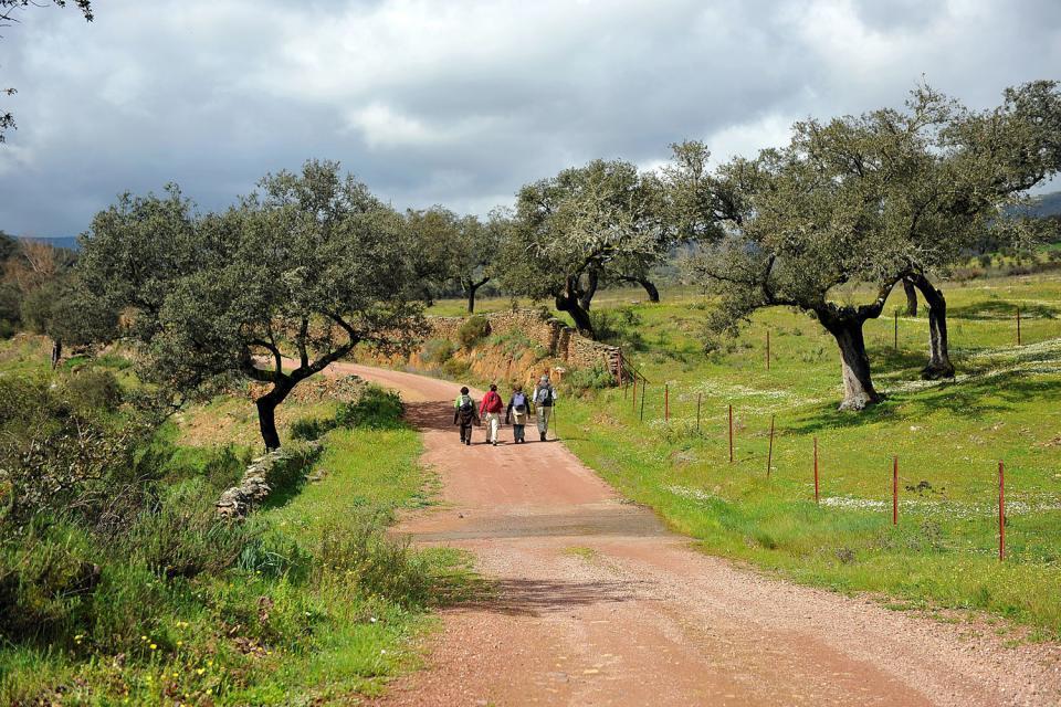Sierra de Aracena, Huelva en moto o a pie
