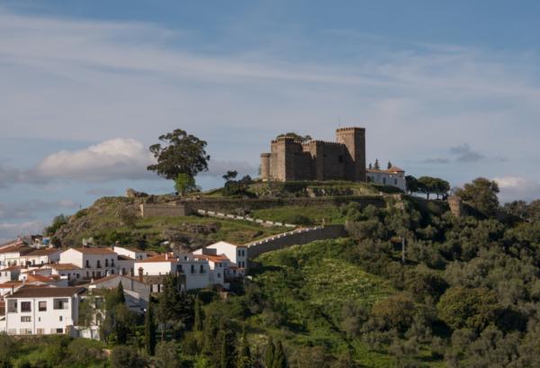 rutas moteras por Huelva-Castillo de Cortegana