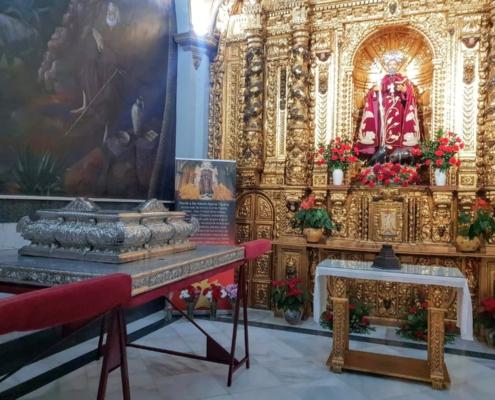 Santo de Trigueros San Antonio Abad