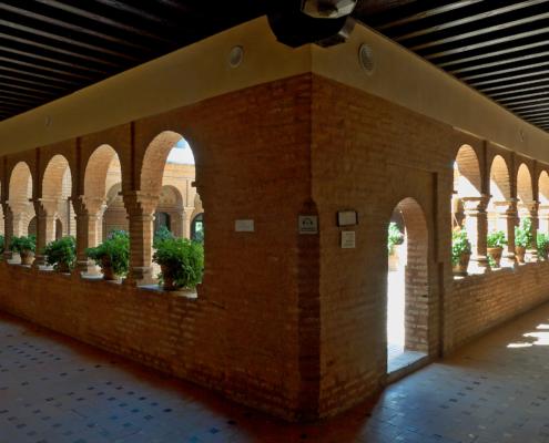 Monasterio de la Rábida Claustro mudéjar