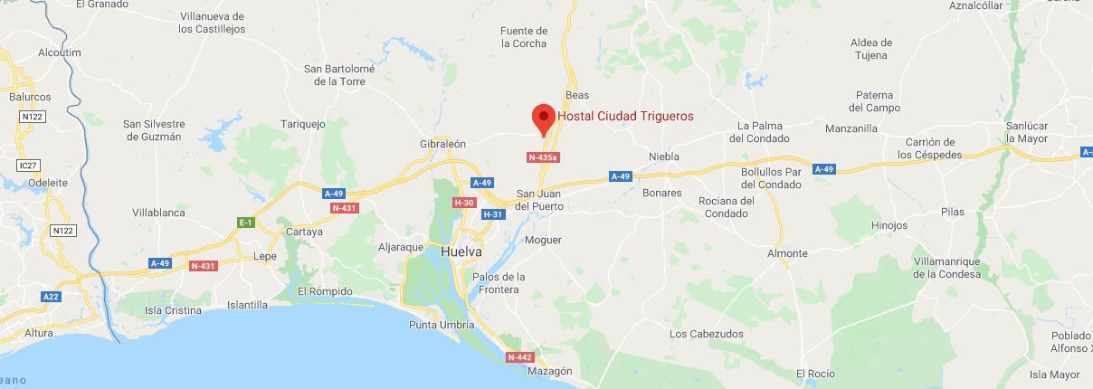 Conoce Huelva mapa-Atención al cliente
