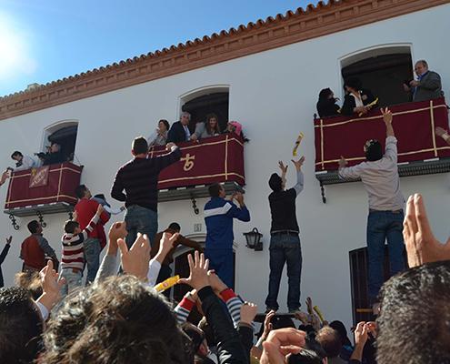 fiestas-actividades-y-ocio-La tirada del Santo en Trigueros