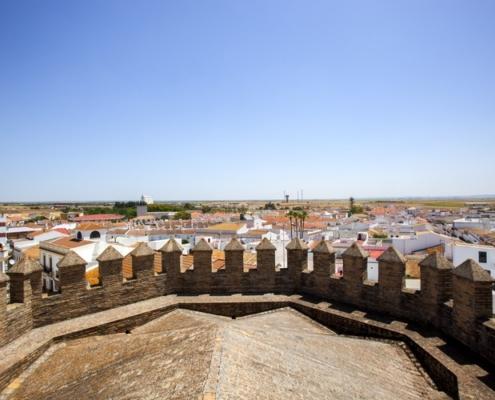 Castillo Iglesia, Niebla,Trigueros-Lugares de interés