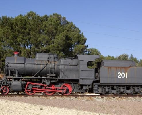 Lugares de interés -Tren minero, Parque Minero Riotinto