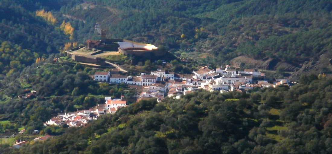 Almonaster La Real, Cumbres Mayores, turismo activo