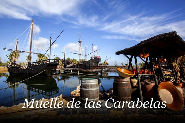 Guías Turísticas Gratis de Huelva visita el Muelle de las Carabelas